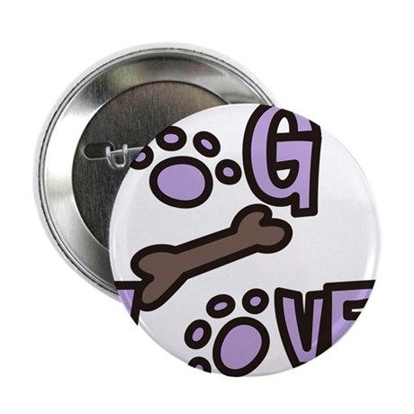 "Dog Lover 2.25"" Button"