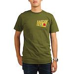 Atomic Fez Men's Organic T-Shirt (dark)