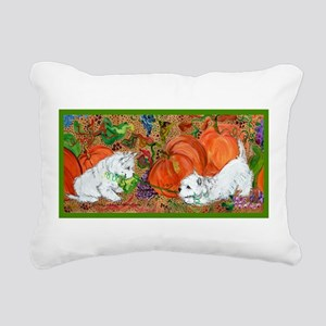 West Highland Terrier Halloween Rectangular Canvas