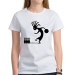 Kokopelli Bowler Women's T-Shirt