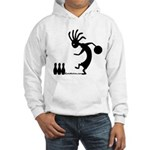 Kokopelli Bowler Hooded Sweatshirt