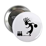 Kokopelli Bowler Button
