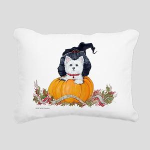 Happy Halloween8x10 Rectangular Canvas Pillow