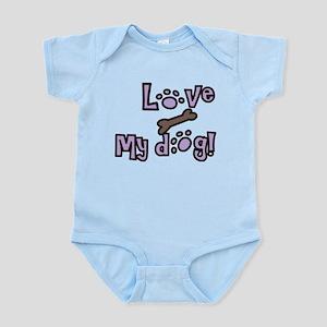 Love My Dog Infant Bodysuit