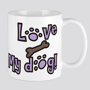Love My Dog Mug