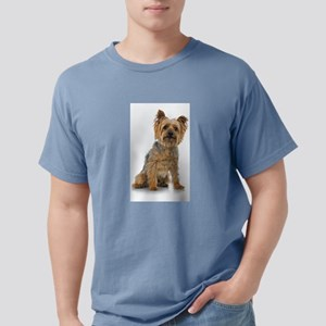 Silky Terrier Photo Mens Comfort Colors Shirt
