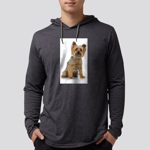 Silky Terrier Photo Mens Hooded Shirt