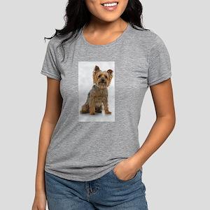 Silky Terrier Photo Womens Tri-blend T-Shirt