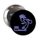 Kokopelli Bowler Button