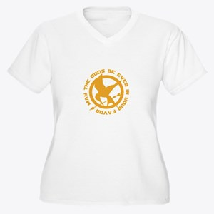 Hunger Games May the Odds Women's Plus Size V-Neck