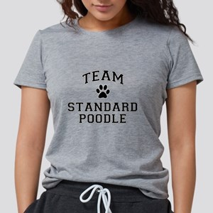 Team Standard Poodle Womens Tri-blend T-Shirt