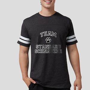 Team Standard Schnauzer Mens Football Shirt