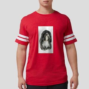 FIN-tibetan-terrier Mens Football Shirt
