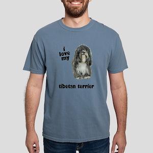 FIN-tibetan-terrier-love Mens Comfort Colors S