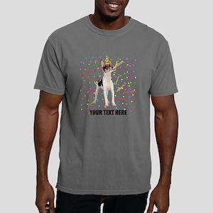Custom Toy Fox Terrier Mens Comfort Colors Shirt