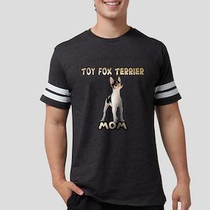 Toy Fox Terrier Mom Mens Football Shirt
