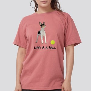FIN-toy-fox-terrier-life Womens Comfort Colors