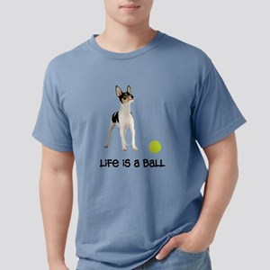 FIN-toy-fox-terrier-life Mens Comfort Colors S