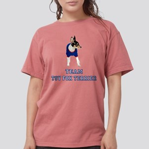 FIN-team-toy-fox-terrier Womens Comfort Colors