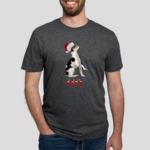 FIN-toy-fox-terrier-nice Mens Tri-blend T-Shir