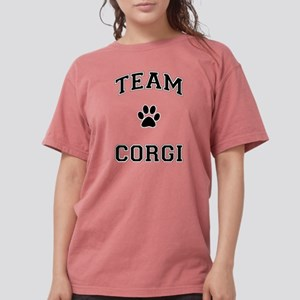 Team Corgi Womens Comfort Colors Shirt