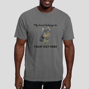 Custom Yorkshire Terrier Mens Comfort Colors Shirt