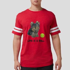 Yorkshire Terrier L... Mens Football Shirt