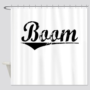 Boom, Aged, Shower Curtain
