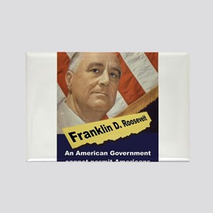 An American Government - FDR Magnets