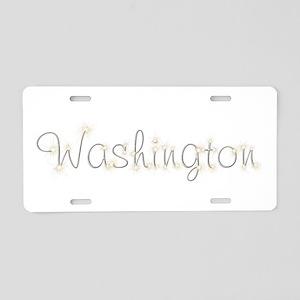 Washington Spark Aluminum License Plate