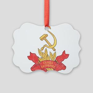Vintage Soviet Picture Ornament