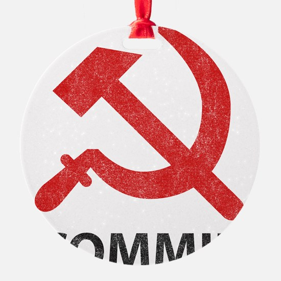 Vintage Commie Ornament