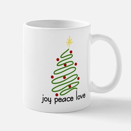 Joy Peace Love Mug
