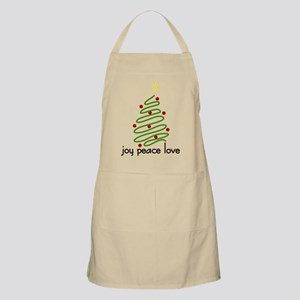 Joy Peace Love Apron