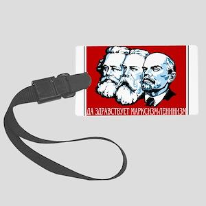 Marx, Engels, Lenin Large Luggage Tag