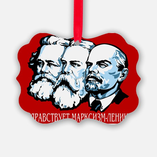 Marx, Engels, Lenin Ornament