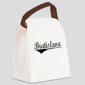 Bratislava, Aged, Canvas Lunch Bag
