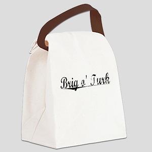 Brig o Turk, Aged, Canvas Lunch Bag