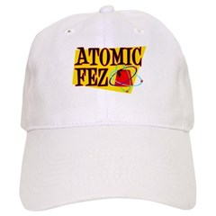 Atomic Fez Publishing Ball-Baseball Cap [also in khaki]