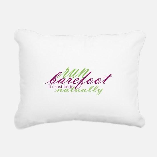 RunNaturally.png Rectangular Canvas Pillow