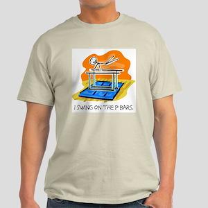 P Bars Stickman Ash Grey T-Shirt