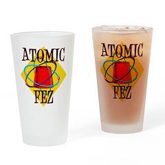 Atomic Fez Publishing Drinking Glass