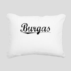 Burgas, Aged, Rectangular Canvas Pillow