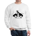 Kokopelli Race Car Driver Sweatshirt