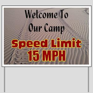Dune Campground Yard Sign