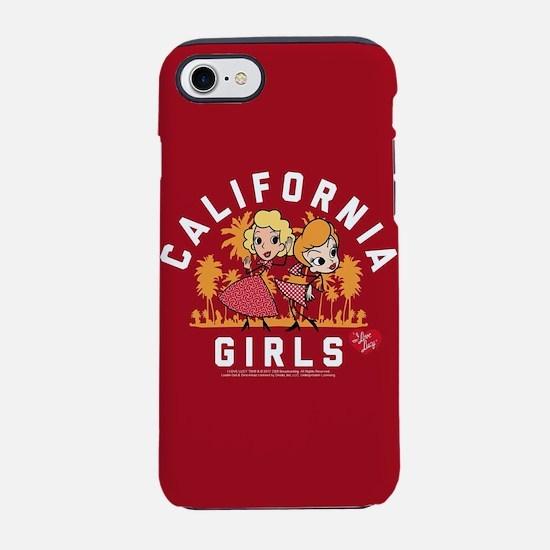 I Love Lucy Cali iPhone 7 Tough Case