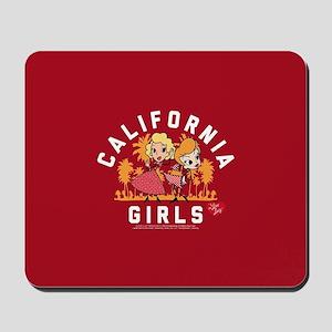 I Love Lucy Cali Mousepad