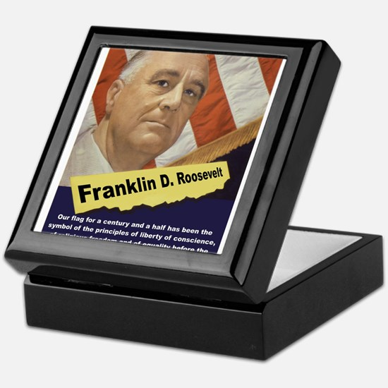 Our Flag - FDR Keepsake Box