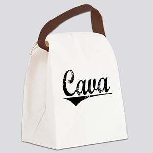 Cava, Aged, Canvas Lunch Bag