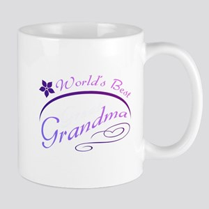 World's Best Grandma (purple) Mug